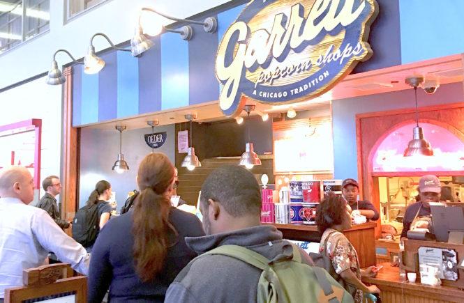 Garret's Popcorn store front