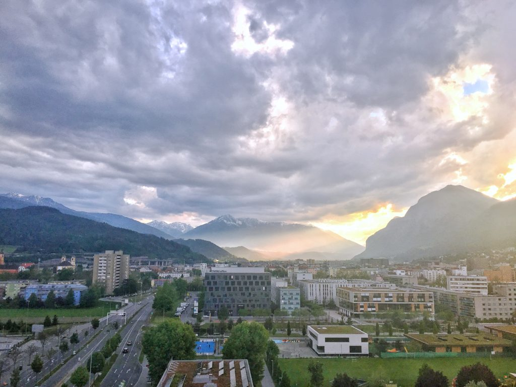 Amazing hotel view