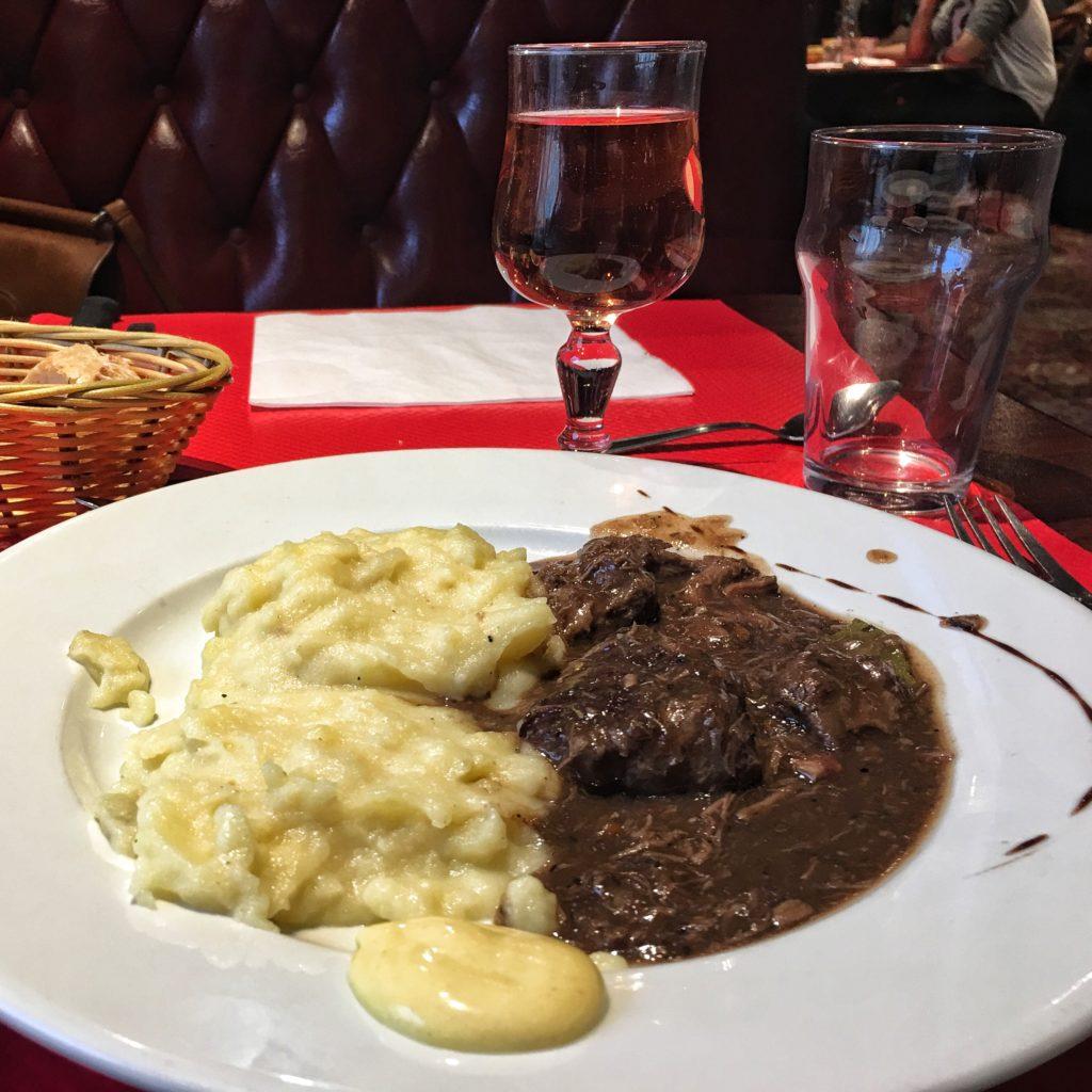 Beef Burgundy & Potatoes