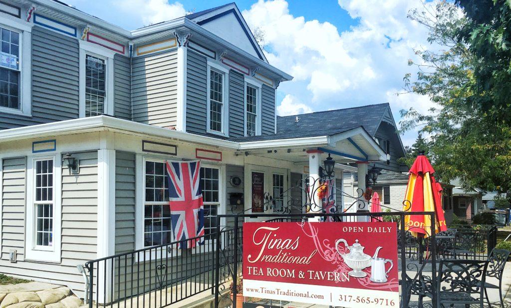 Tina's Tea House exterior