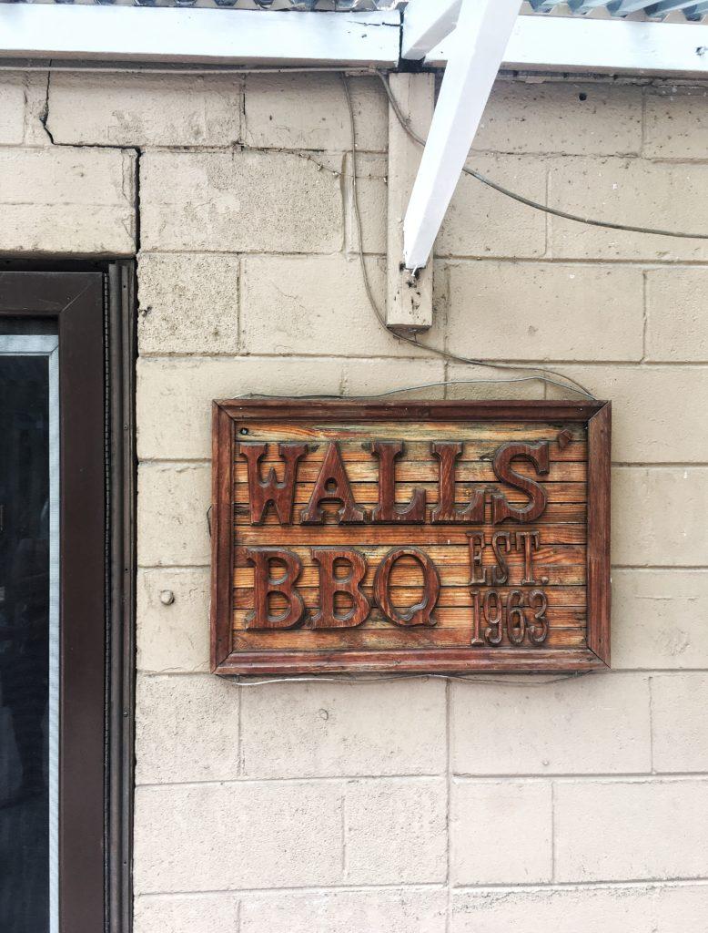 Walls' BBQ