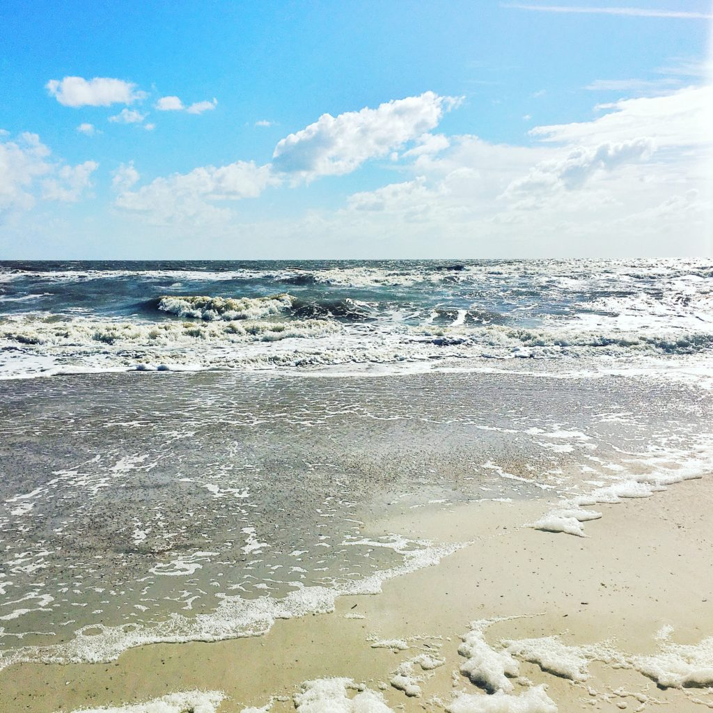 Fernandina Beach on a sunny day