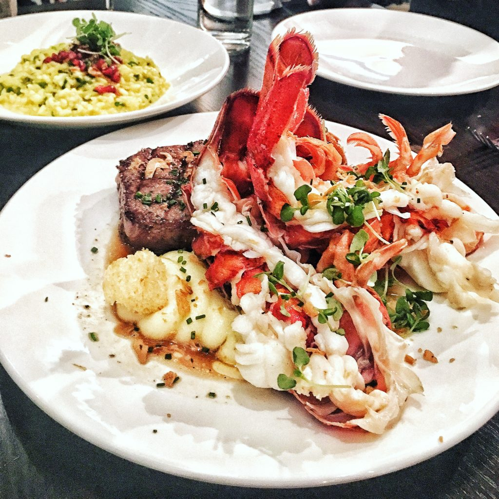 Ribeye & Lobster Tail