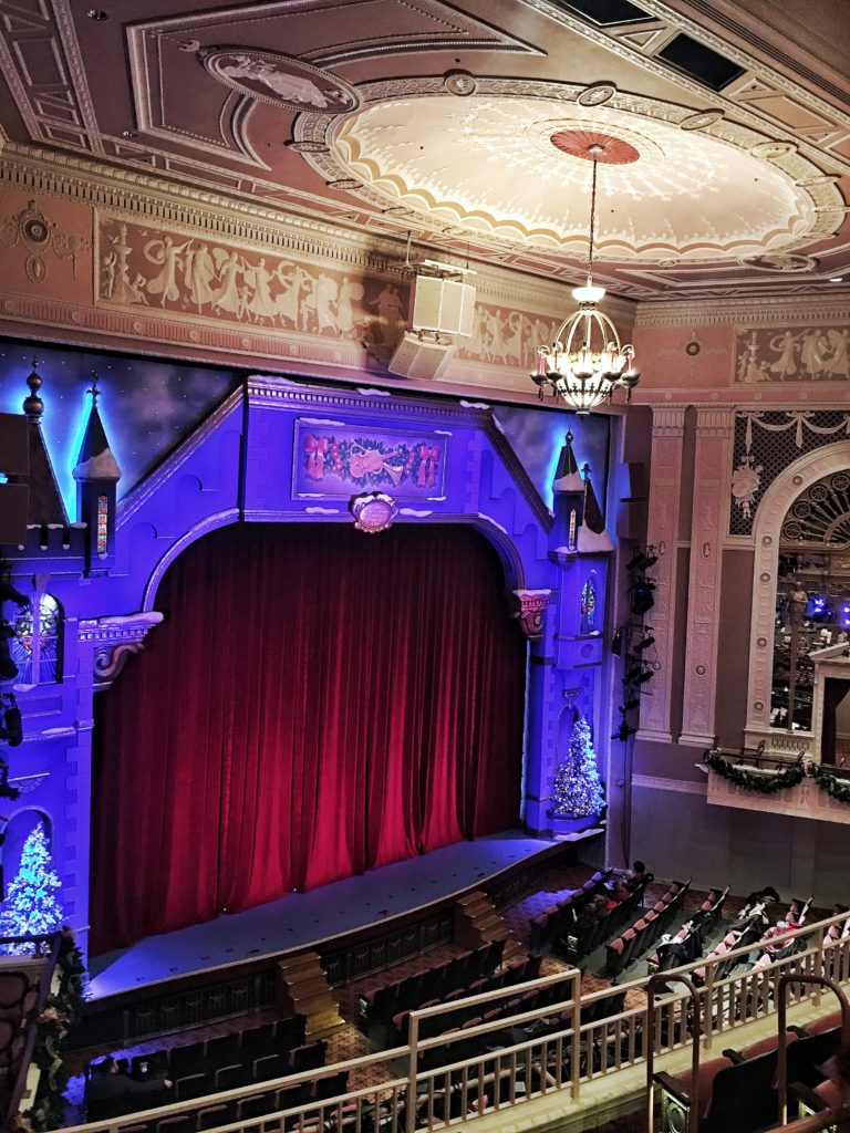 Theater view from the balcony