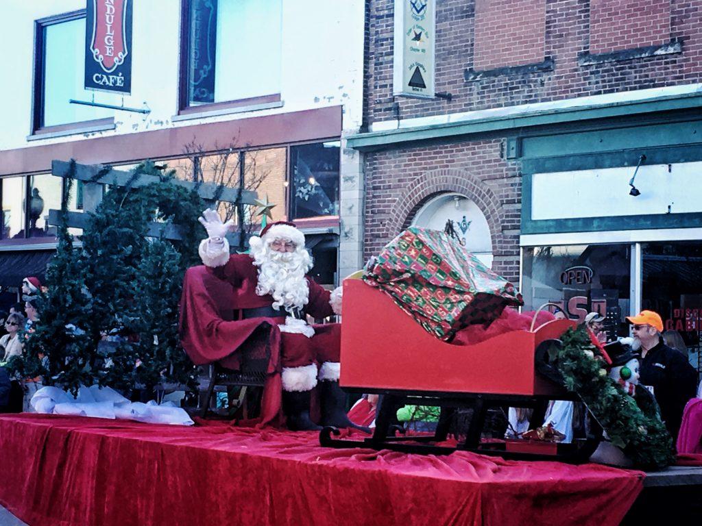 Fortville Winterfest Parade Santa