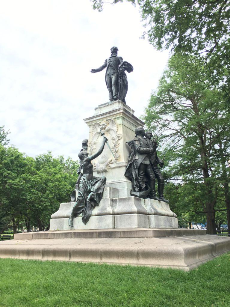 General Lafayette Statue