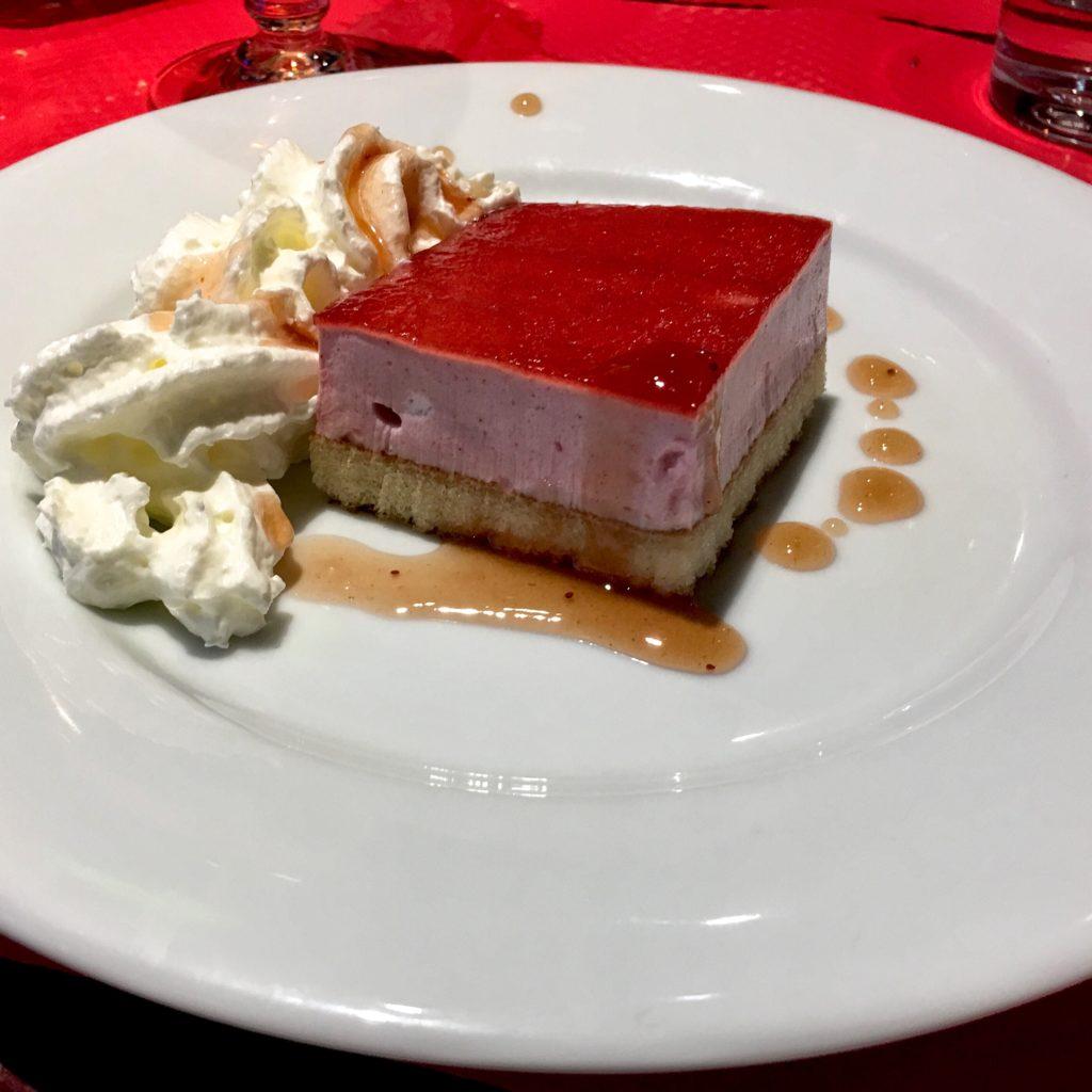 Unidentifiable gelatinous dessert