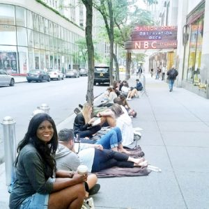 The Tonight Show standby line