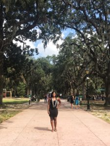 Forsyth Park - loved the Spanish moss on the trees