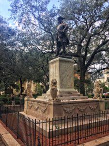 James Oglethorpe Monument