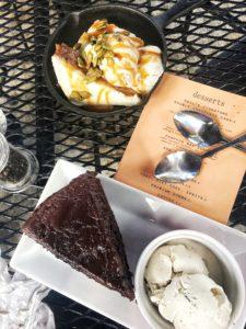 Rail desserts