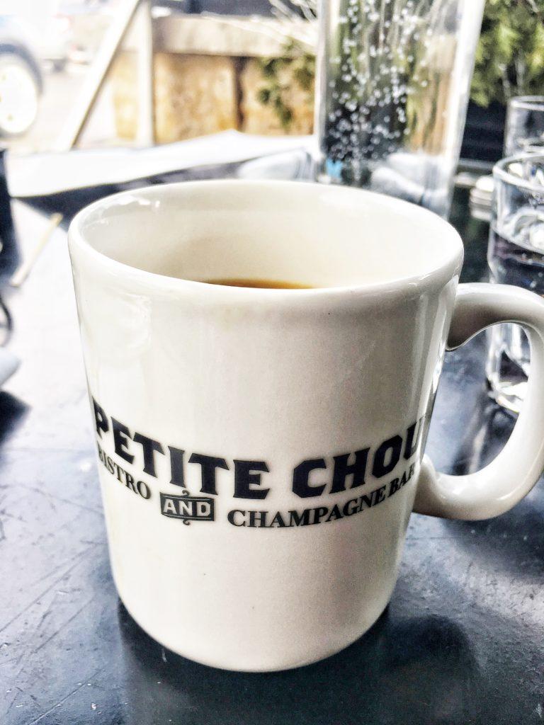 Petite Chou Bistro coffee