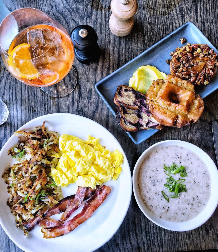 All the brunch foods!