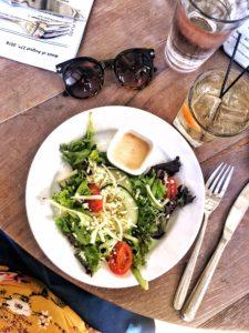 1st Course: Mixed Greens Salad - Salt on Mass